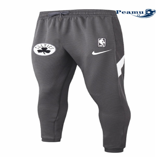 Peamu - Pantaloni Thermaflex Boston Celtics - Nero