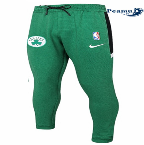 Peamu - Pantaloni Thermaflex Boston Celtics - Verde
