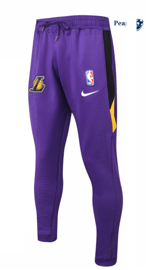 Peamu - Pantaloni Thermaflex Los Angeles Lakers - Viola