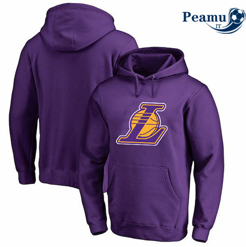 Peamu - Felpa con cappuccio Los Angeles Lakers