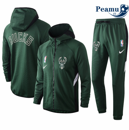 Peamu - Tuta Calcio Milwaukee Bucks - Verde