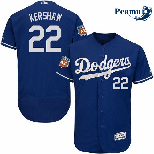 Peamu - Clayton Kershaw, Los Angeles Dodgers - Blu