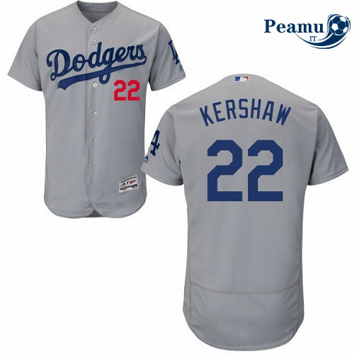 Peamu - Clayton Kershaw, Los Angeles Dodgers - Grigio