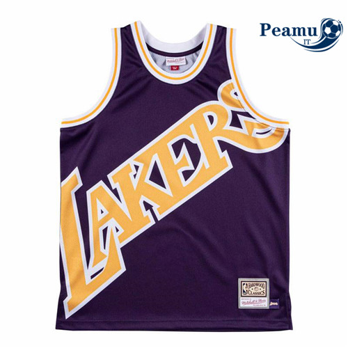 Peamu - Los Angeles Lakers - Mitchell & Ness 'Big Face'