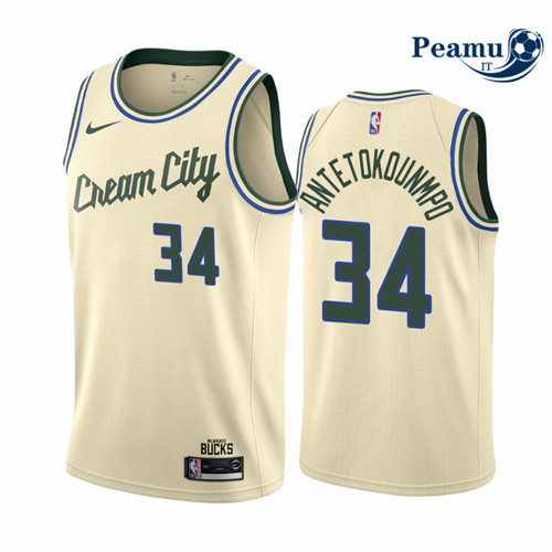 Peamu - Giannis Antetokounmpo, Milwaukee Bucks 2019/20 - City Edition