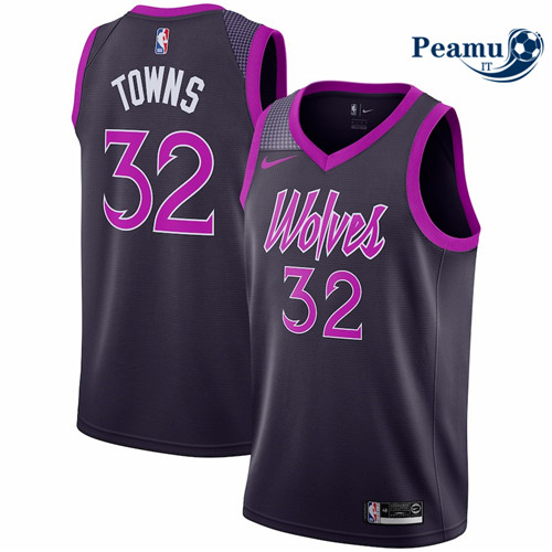 Peamu - Karl-Anthony Towns, Minnesota Timberwolves 2018/19 - City Edition