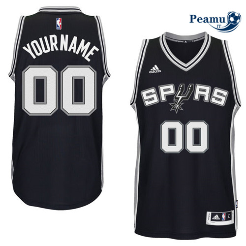 Peamu - San Antonio Spurs, Custom [Nero]