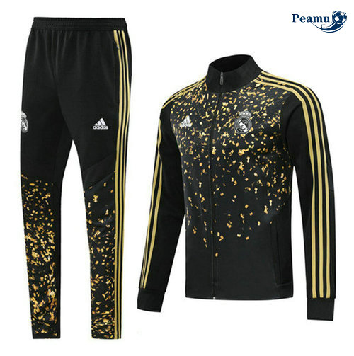 Tuta Calcio - Giacca Real Madrid edition star Nero/Giallo 2019-2020